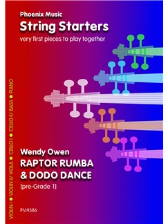 Wendy Owen: Raptor Rumba And Do Do Dance (Beginner Strings) Books | String Ensemble