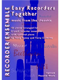 Easy Recorders Together - Classics (4-Part Recorder Ensemble) Books | Recorder (Four Part Ensemble)