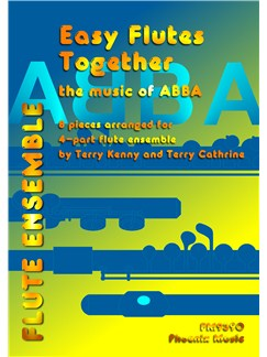 Easy Flutes Together - Abba (4-Part Flute Ensemble) Books | Flute (Quartet)