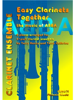 ABBA: Easy Clarinets Together Books | Clarinet (Quartet)