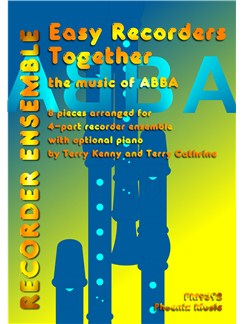 Easy Recorders Together - The Music Of Abba (4-Part Recorder Ensemble) Books | Recorder (Quartet)