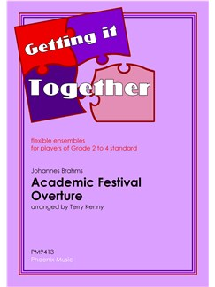Johannes Brahms: Academic Festival Overture (Easy Flexible Ensemble) Books | Ensemble