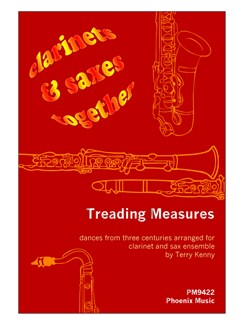 Treading Measures (Four-Part Clarinet And Saxophone Ensemble) Books | Ensemble