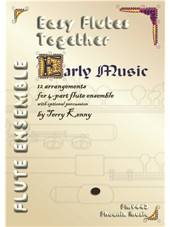 Easy Flutes Together (4-Part Flute Ensemble) Books | Flute (Quartet)