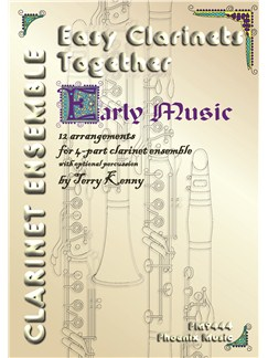 Easy Clarinets Together (4-Part Clarinet Ensemble) Books | Clarinet (Quartet)