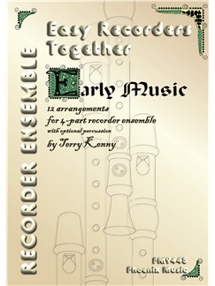 Easy Recorders Together (4-Part Recorder Ensemble) Books | Recorder (Quartet)