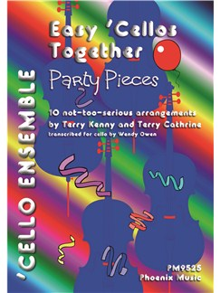 Terry Kenny and Terry Cathrine: Party Pieces Books | Four 'Cellos, Double Bass