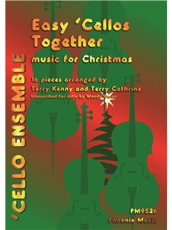 Terry Kenny and Terry Cathrine: Music For Christmas Books | Four 'Cellos, Double Bass