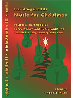 Terry Kenny and Terry Cathrine: Music For Christmas Books | String Quartet