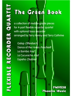 The Green Book - Recorder Ensemble Score/Parts Books | Recorder Ensemble
