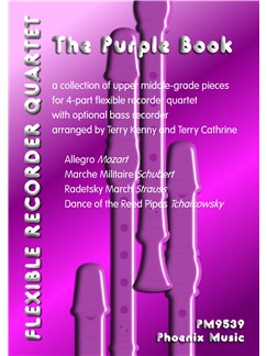 The Purple Book - Recorder Ensemble Score/Parts Books | Recorder Ensemble