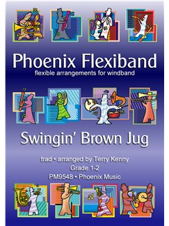 Swingin' Brown Jug - Flexiband Arrangement Books | Wind Ensemble