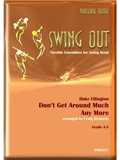 Duke Ellington: Don't Get Around Much Any More Books | Wind Ensemble