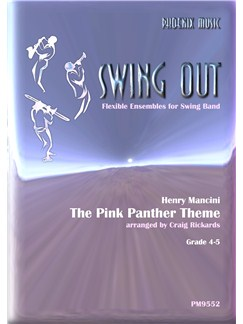 Henry Mancini: The Pink Panther (Wind Ensemble) Books | Wind Ensemble