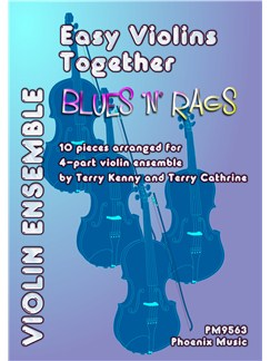 Easy Violins Together - Blues 'N' Rags Books | Violin, Ensemble