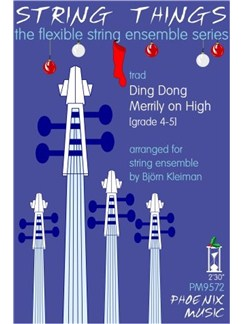 String Things Ensemble Series: Ding Dong! Merrily On High - Flexible String Ensemble Score/Parts Books | String Ensemble