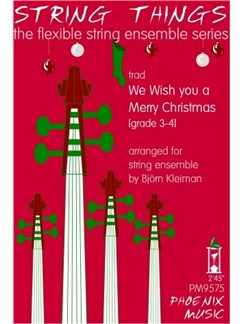 String Things Ensemble Series: We Wish You a Merry Christmas - Flexible String Ensemble Score/Parts Books | String Ensemble