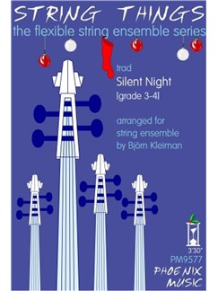 String Things Ensemble Series: Silent Night - Flexible String Ensemble Score/Parts Books | String Ensemble
