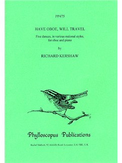 Kershaw: Have Oboe, Will Travel (Oboe & Piano) Books | Oboe, Piano Accompaniment