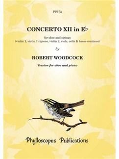 Robert Woodcock: Concerto No. 12 in E flat - Oboe with piano reduction Books | Oboe, Piano Accompaniment