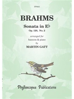 Johannes Brahms: Sonata In E Flat Op.120 No.2 - Bassoon/Piano Books | Bassoon, Piano Accompaniment