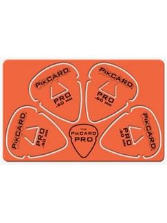PikCard: .60mm Orange Delrin (4 Guitar Picks)  | Guitar