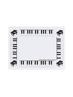The Music Gifts Company: White Keyboard Post-It® notes  |
