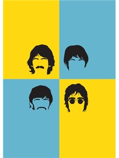 Pop Art: The Beatles - Greeting Card  |