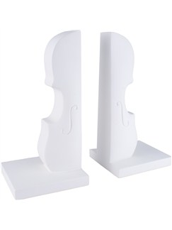 Bookends: White Double Bass  |