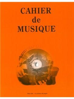 Cahier De Musique: 12 Stave (27 x 21) Books |