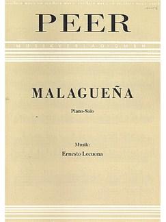 Ernesto Lecuona: Malaguena Books | Piano