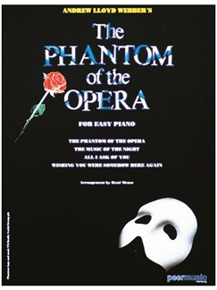 Andrew Lloyd Webber: The Phantom Of The Opera Books | Piano & Vocal