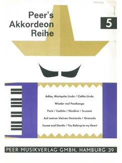 Peer's Akkordeon Reihe 5 Books | Accordion