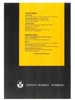 Peer-Potpourris: Foxtrot-Party & Beguine-Party Books | Piano