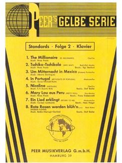 Peer's Gelbe Serie - Standards 2 Books | Piano, Voice