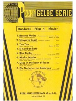 Peer's Gelbe Serie - Standards 4 Books | Piano, Voice