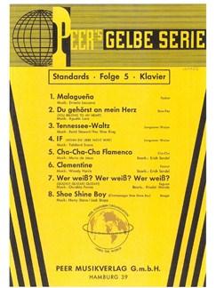 Peer's Gelbe Serie - Standards 5 Books | Piano, Voice