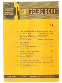 Peer's Gelbe Serie - Standards 9 Books | Piano, Voice