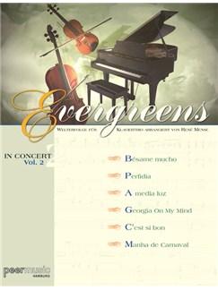 Evergreens In Concert Vol. 2 - Welterfolge für Klaviertrio Books | Cello, Piano, Violin