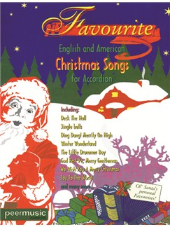Favourite English And American Christmas Songs For Accordion Books | Accordion
