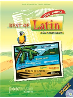 Best Of Latin. Play Along Books and CDs | Accordion, Keyboard
