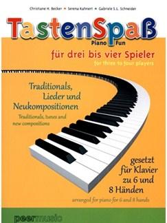 TastenSpaß Für Drei Bis Vier Spieler (Book/CD) Books and CDs | Piano, Piano Six Hands
