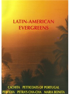 Latin-American Evergreens - Score Books | Accordion, Drums, Voice