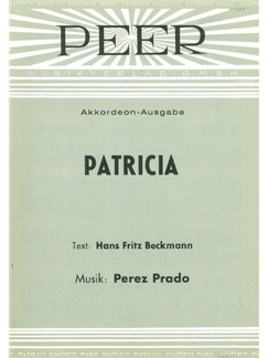 Perez Prado: Patricia Books | Piano & Vocal, Accordion