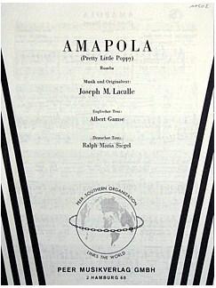 Amapola - Pretty Little Poppy Books | Piano & Vocal