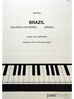 Ary Barroso: Brazil Books | Piano & Vocal