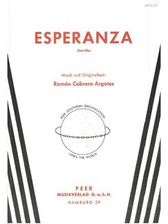 Ramon Cabrera Argotes: Esperanza Books | Piano & Vocal
