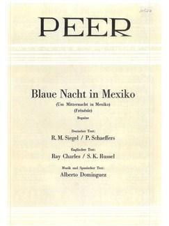 Alberto Dominguez: Frenesi Books | Piano & Vocal