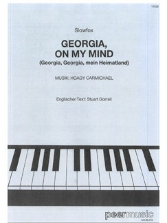 Hoagy Carmichael: Georgia On My Mind Books | Piano & Vocal