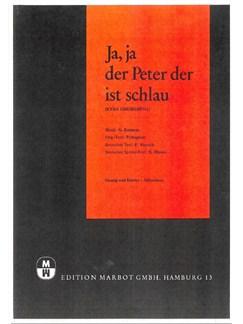 George Katsaros: Ja, Ja Der Peter, Der Ist Schlau Books | Piano & Vocal